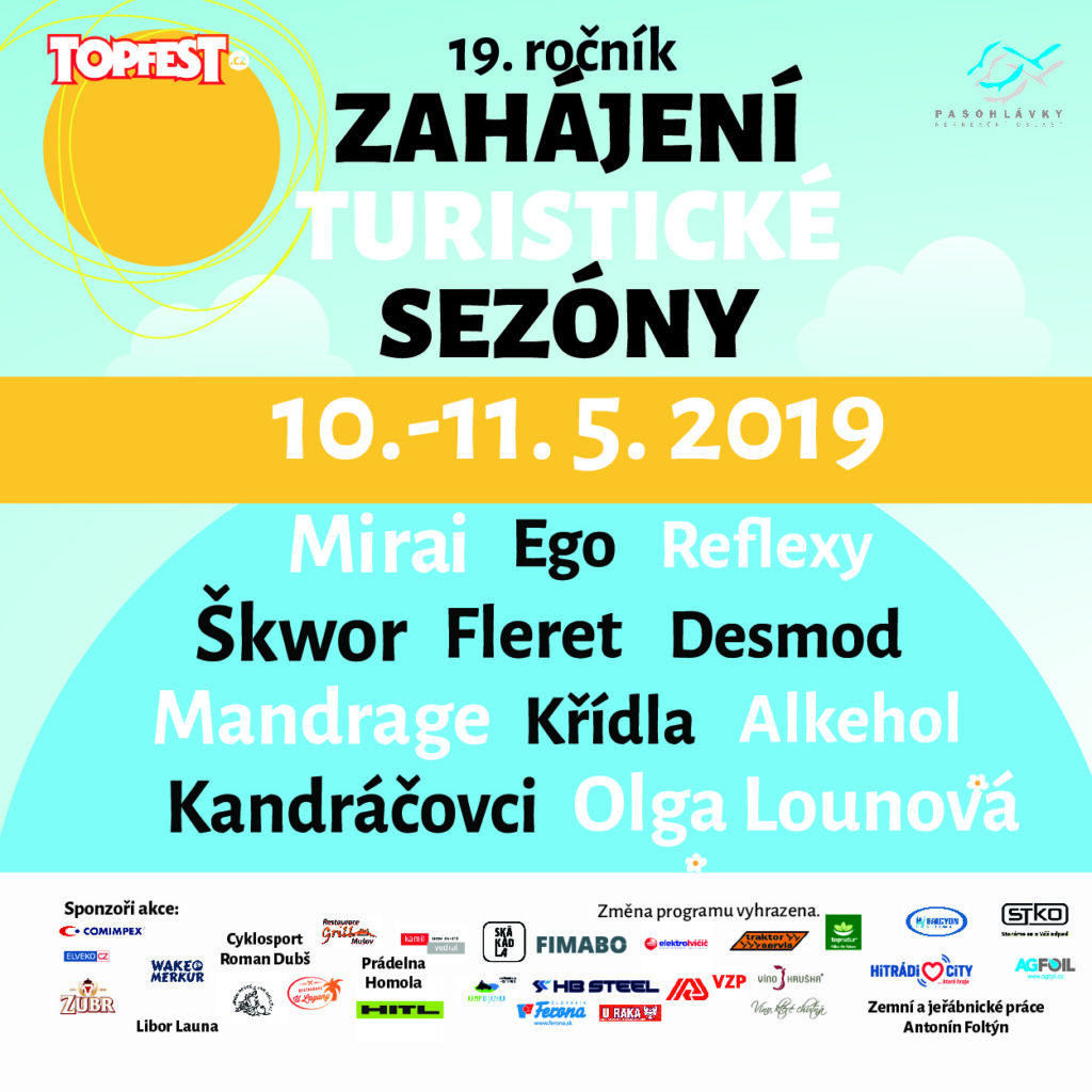 Zahájení turistické sezóny 2019