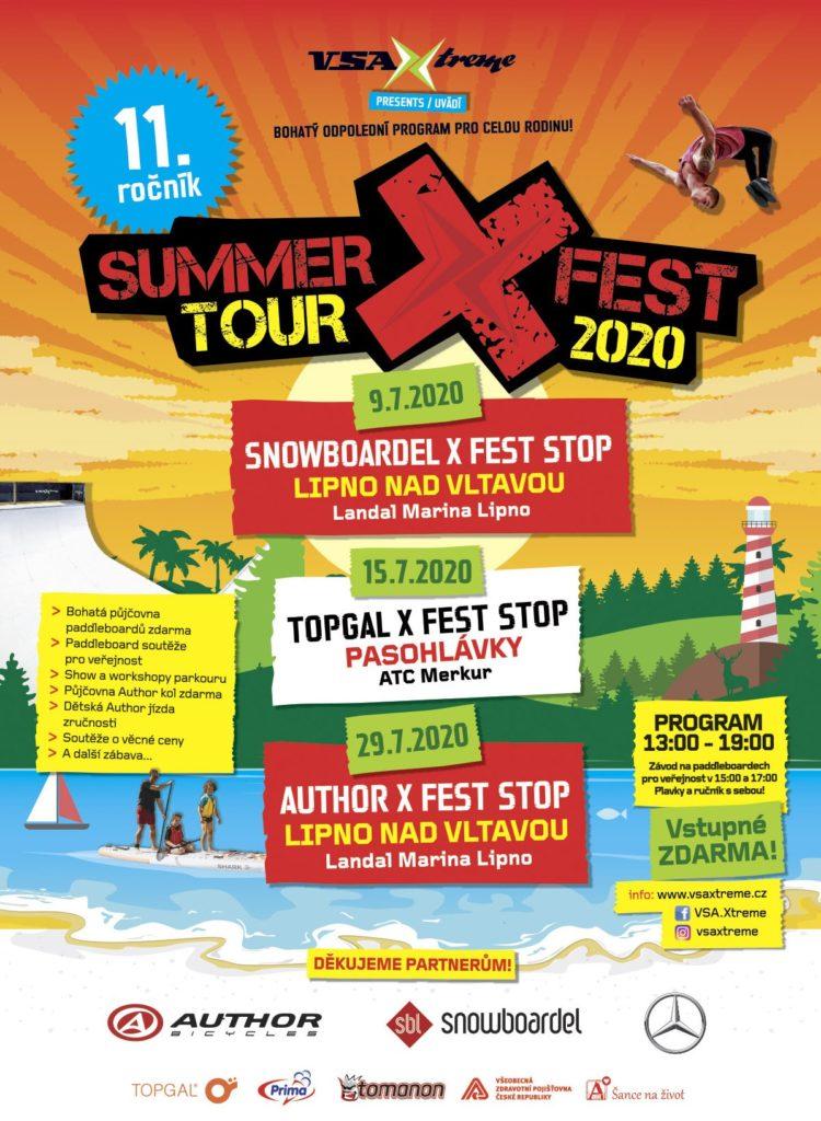 11.ročník SUMMERXFEST TOUR